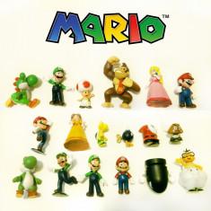 Figurine / jucarii - Set 18 figurine colectia Mario, Luigi, Peach & friends - Figurina Desene animate Altele