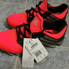 Adidasi Adidas Springblade Solyce - Adidasi barbati, Marime: 42 2/3, Culoare: Rosu