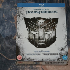 Film - Transformers Quadrilogy [4 Filme, 6 Discuri Blu-Ray], import UK - Film SF paramount, Engleza