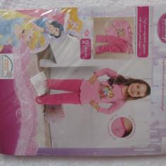 Pijama printesele Disney roz pentru fetite 86-92 cm 2-3 ani maneca lunga NOUA, Marime: Masura unica, Fete