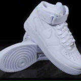 Ghete Nike Air Force One Barbati alb - Ghete barbati Nike, Marime: 36, 44, Culoare: Din imagine