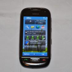 Vand Nokia C7 - Telefon mobil Nokia C7, Negru, Neblocat
