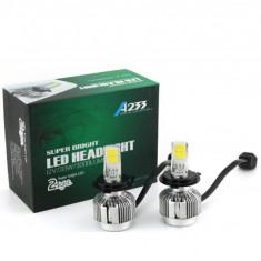 Kit becuri Bi-Led H4 12v/24v 66w 6000k 3000 lm Set 2 buc