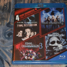 Film - Final Destination 1-5 - 5 Movies [5 Discuri Blu-Ray + 1 DVD ], Import US - Film thriller warner bros. pictures, Engleza