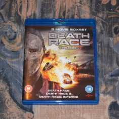 Film - Death Race Trilogy [3 Filme - 3 Discuri Blu-Ray], Import UK - Film actiune universal pictures, Engleza