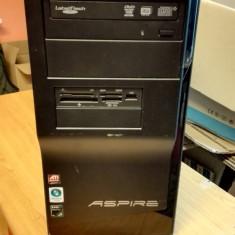 Desktop Acer Aspire M1201 AMD Athlon 64 X2 4400+ 2, 30GHz - Sisteme desktop fara monitor Acer, 2001-2500 Mhz, 2 GB, 100-199 GB