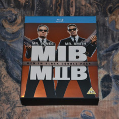 Film - Men In Black I si II [2 Discuri Blu-Ray], Import UK - Film actiune sony pictures, Engleza