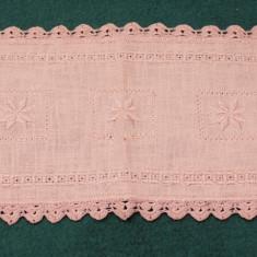 Centru de masa ( servet) roz - Mileu