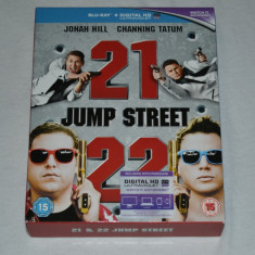 Film - 21 Jump Street & 22 Jump Street [2 Blu-Ray Discs], Import UK - Film comedie sony pictures, Engleza