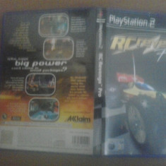RC Revenge - JOC PS2 ( GameLand ) - Jocuri PS2, Curse auto-moto, 3+, Multiplayer