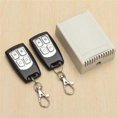 Modul receiver cu 4 relee releu si telecomanda x 2 wireless smart home arduino