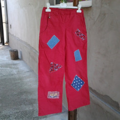 Fantasy Red / pantaloni copii 12 ani, Marime: One size, Culoare: Din imagine