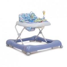 Premergator Cangaroo Copii Si Bebe Lucky Blue, 0-6 luni, Albastru