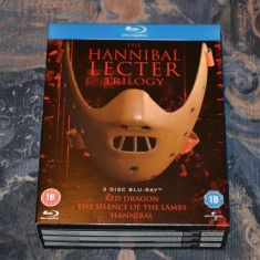 Film - The Hannibal Lecter Trilogy [3 Filme Blu-Ray 3 Discuri], Import UK, BLU RAY, Engleza, universal pictures