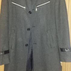 Palton barbatesc - Palton barbati Desigual, Marime: 46, Culoare: Gri
