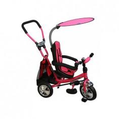 Tricicleta copii Baby Mix Cu Scaun Reversibil Safari Ws611 Pink
