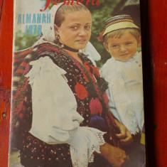 Almanah femeia anul 1978 - 192 pagini !!!