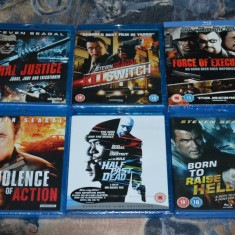 Film - Steven Seagal Collection - 2 filme [2 Blu-Ray Discs], Import UK - Film actiune sony pictures, Romana