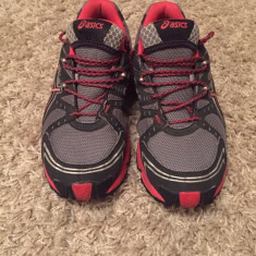 Adidași Asics men's gel-trail sensor 3wr - Adidasi barbati, Marime: 39-40, Culoare: Gri