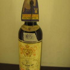 B 45 - vin VERNACCIA, pale extra dry, SARDEGNA, cl 72, gr 15, 5, recoltare 1966 - Vinde Colectie, Aroma: Sec, Sortiment: Rosu, Zona: Europa