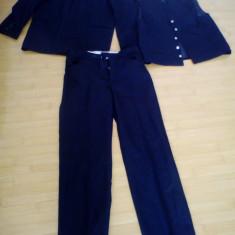 Costum barbatesc, masura 46 - Costum barbati, Culoare: Negru