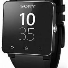 Sony Sony SmartWatch 2 SW2 corp aluminiu negru - Bratara Piele Neagra