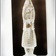 STICLĂ VINTAGE DE CONIAC ÎN FORMĂ DE ȚĂRĂNCUȚĂ, VECHE, CAP. APROX. 1 LITRU! - Sticla