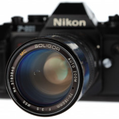 Nikon - MC Soligor 70-150mm F3.5 - Obiectiv DSLR Nikon, Tele, Manual focus, Nikon FX/DX