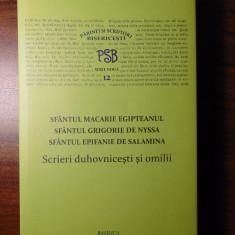PSB 12 (serie noua) - Sf. Macarie Egipteanul, Sf. Grigorie de Nyssa