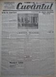 Cuvantul , ziar legionar ,11 Iunie 1933 , artic. Mihail Sebastian , Nae Ionescu, Nae Ionescu