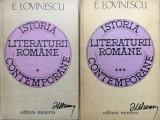 ISTORIA LITERATURII ROMANE - E. Lovinescu (vol I si III)