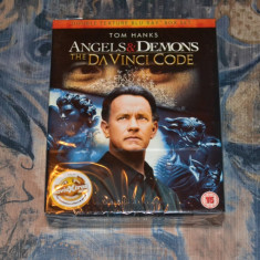 Film - Angels & Demons / The Da Vinci Code: Double Feature [2 Discuri Blu-Ray] - Film actiune sony pictures, Engleza