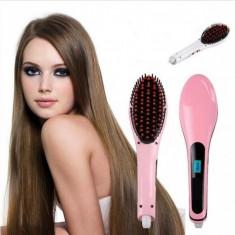 PLACA de par Perie ionica pentru indreptat parul Hair Straightener