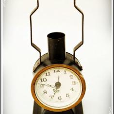 CEAS DE MASĂ DEȘTEPTĂTOR - MARCA IDEA - MADE IN WEST GERMANY, FUNCȚIONAL, VECHI! - Ceas de masa