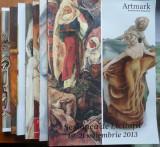 7 cataloage de licitatii Artmark pe hartie cretata , in stare excelenta