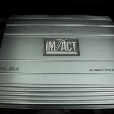 Amplificator auto, statie auto, Impact HQ 50.4, super calitate !
