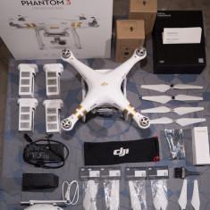 Drona DJI Phantom 3 Professional filmare 4k + accesorii multiple!