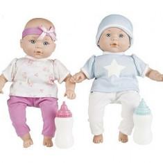 Jucarie fetite set papusi gemene - Papusa, 4-6 ani, Plastic, Fata