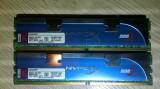 Kingston HyperX 4GB DDr2 800 PC2-6400 Dual  2*2GBDDR2 Gaming KHX6400D2LLK2/4G, DDR 2, 4 GB, Dual channel