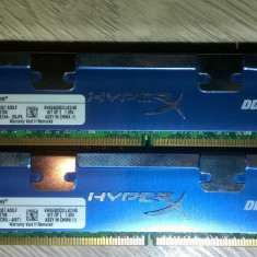 Kingston HyperX 4GB DDr2 800 PC2-6400 Dual 2*2GBDDR2 Gaming KHX6400D2LLK2/4G - Memorie RAM Kingston, 800 mhz, Dual channel