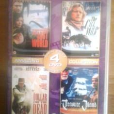 ADVENTURE FILMS - COLLECTION - 4 Filme - DVD - Film actiune, Engleza