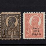 FERDINAND ZIARISTI 1920 - 2 VALORI - MNH - Timbre Romania, Nestampilat