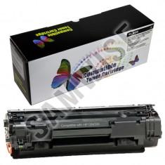 Cartus toner negru compatibil imprimante Laser HP Seriile P/M, Canon LPB iSensys