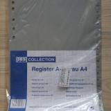 Index alfabetic A4 pentru dosar/biblioraft