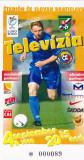 Acreditare meci fotbal SLOVACIA - ROMANIA 04.09.1999