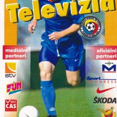Acreditare meci fotbal SLOVACIA - ROMANIA 04.09.1999 - Bilet meci