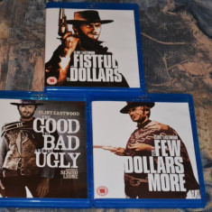 Film - The Good, The Bad And The Ugly - 1 Disc Blu-Ray, Remastered, Import UK - Film Colectie mgm, Engleza