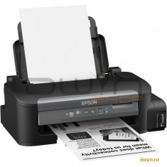 Epson M105, Imprimanta inkjet monocrom CISS A4 ( Print, Wireless ), viteza de imprimare 34 ppm monoc