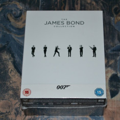Film - James Bond - Collection - 23 Filme - 23 Discuri Blu-Ray, Import UK - Film Colectie Altele, Engleza