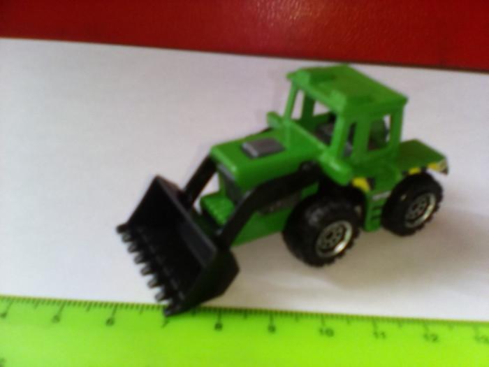 bnk jc Matchbox - Tractor Shovel - incarcator frontal